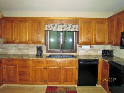 Larger recently updated kitchen