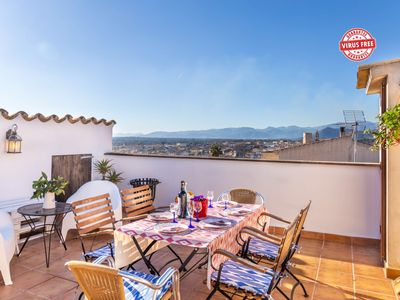 Photo for Mallorca traditional townhouse holiday in Llubi
