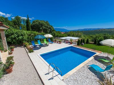 Photo for Wonderful private villa for 8 guests with private pool, A/C, WIFI, TV and parking