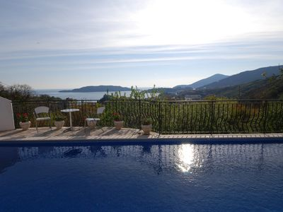 Photo for Villa Jelka, spacious villa with pool and breathtaking sea views from all rooms