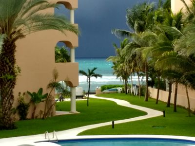 Photo for Ocean view luxury condo with a outstanding deck