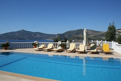 Photo for Apartment With Private Terrace, Extensive Sea Views, Shared Pool