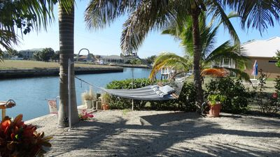 Photo for Waterfront private home with dock, pool and boating access to Gulf of Mexico