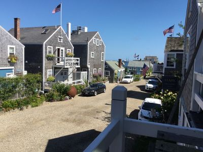 Photo for Charming Old North Wharf apt. steps away from Main St and Nantucket Harbor