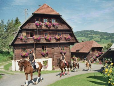 Photo for Schilcherhof - Riding stables Plank
