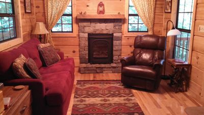 Photo for A Country Retreat at Clear Creek Cabins (Cabin in the Treetops) near Asheville