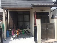 We spend our Christmas this year in Osaka. The house is a nice typical Japanese house in a quiet