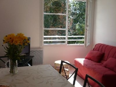 Photo for Nice sunny and quiet apartment located in the St Eloi district