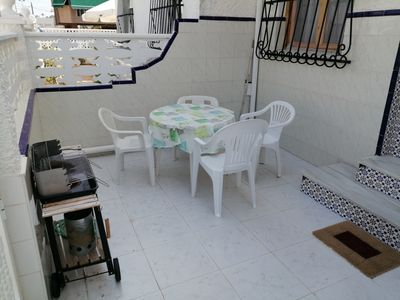 Photo for 2 bedroom duplex with private terrace near Gran Playa Santa Pola