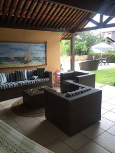 Photo for beach of sheep, 4 bedroom house with pool, barbecue, fully furnished.