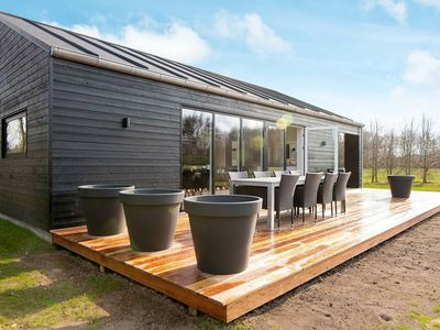 Photo for Charming Holiday Home with Private Whirlpool at Jutland