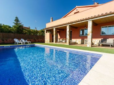 Photo for Vacation home Montverde in Caldes de Malavella - 10 persons, 4 bedrooms