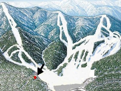 Photo for Location! Location! 100 yards to Bear Mtn slopes. Ski Out. Private sledding run.