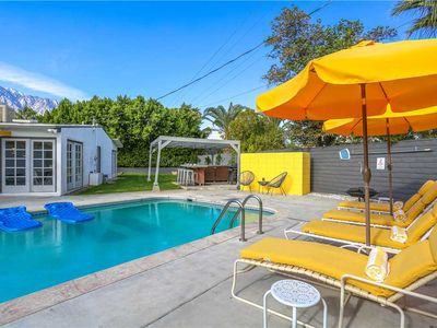 Photo for Palm Springs Pool Bungalow: 3 BR / 2 BA home in Palm Springs, Sleeps 6