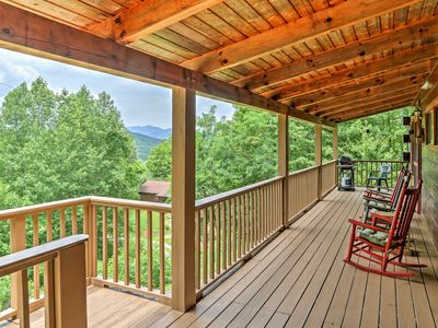Photo for Bryson City Cabin w/ Private Hot Tub & Pool Table!