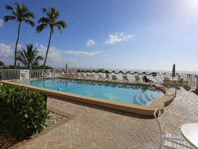 Photo for Estero Beach Club East #31 Beautifully Maintained, Smaller Condominium Building, Gorgeous Pool by the Ocean