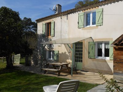 Photo for Back country cottage Bordelais 5 people