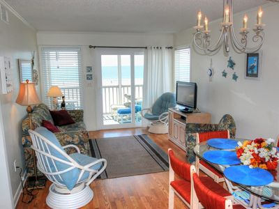 Beautiful oceanfront condo with stunning views located on popular Shore Drive!
