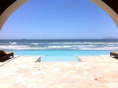 Photo for Amazing Rosarito Beachfront Las Olas Mar Y Sol Spa Gym Pool Security Gated Views