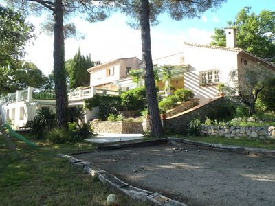 Photo for Pretty Villa 8 people, private secure pool, ideal families