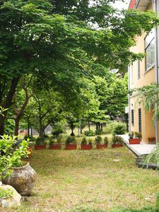 Photo for Apartment in villa with large park in the main street of Nicolosi