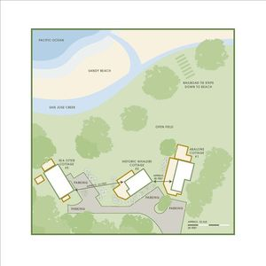 Layout for all 3 Cottages