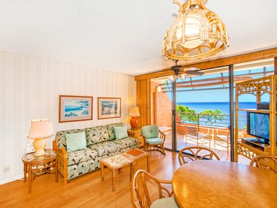 Photo for Ocean Front in West Maui, Quiet Condo Resort, Great Views & Value—1BR/1BA