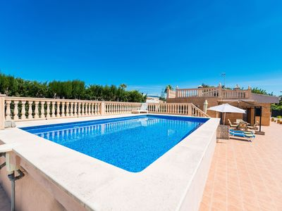 Photo for Family-friendly villa with pool - Villa Ses Llegitimes