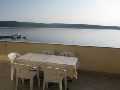 Photo for Holiday apartment only 15 m from the sea