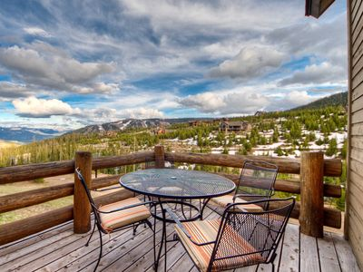 Photo for Summer Serenity/7 Day Summer Cancellation/Ski-in/out Saddle Ridge E5