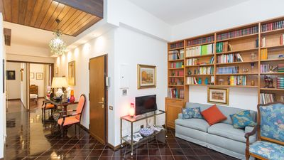 Photo for Borgo Angelico Terrace Apartment