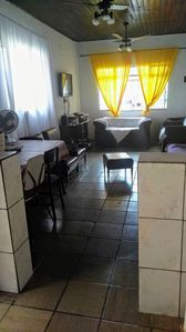 Photo for Comfortable house on Mongaguá beach accommodates from 5 to 8 people
