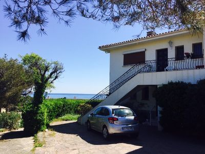 Photo for APART 3 BEDROOMS, 6 PERSONS,AIR COND,SEA VIEW,PARKING,QUIET,BEACH 100 METERS