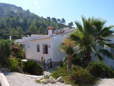 Photo for Modern Two Bedroomed Villa With Private Pool, Gardens, Aircon & Stunning Views