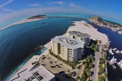 Overhead View of Pelican Point