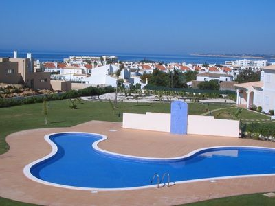 Photo for Luxurious Sea and Pool view apartment. UK TV / Unlimited  Wi-Fi access