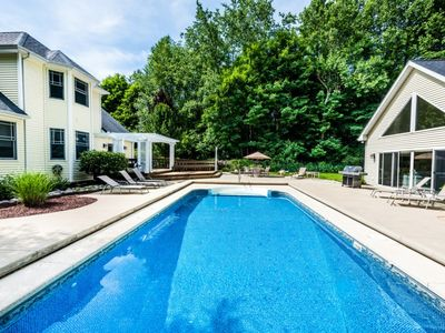 Photo for Upscale Union Pier Home with Private Pool and Guest House!