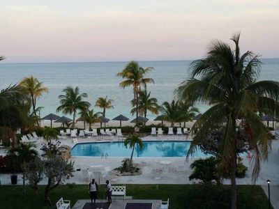 Photo for 1 Bedroom End Unit Newly Renovated condo that Sleeps 4 with Large Ocean terrac