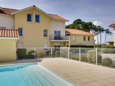 Photo for Biscarrosse Plage apartment 5 people in a residence with a swimming pool