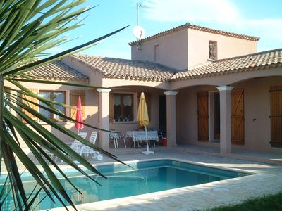 Photo for ROOM IN VILLA WITH HEATED SWIMMING POOL & FITNESS ROOM