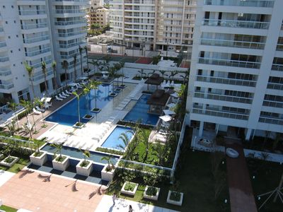 Photo for Praia da Enseada, Guarujá - High Standard Apt with Sea View