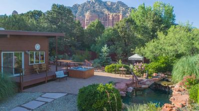 Photo for Sedona's Stargazer Getaway! *** HOT TUB AND FIRE PIT***