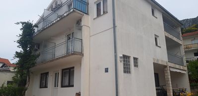Photo for Studio flat with balcony and sea view Podaca, Makarska (AS-6745-b)