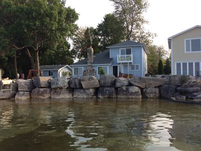 Georgian Bay Waterfront Cottage Apt. Stunning views await in this charming spot.