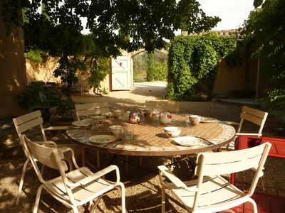 Photo for Authentic farmhouse 6 pers. quiet, near village, heated pool 17 * 4 m