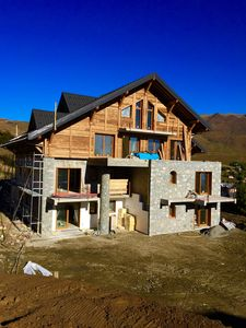 Photo for luxury chalet with direct access to the slopes