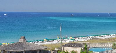 The best view in Destin. South View from balcony