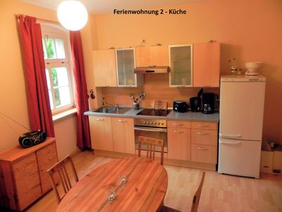 Photo for Stylishly furnished apartment in Rathmannsdorf im Zauketal, allergy sufferers