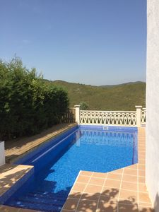 Photo for Villa On Hillside With Private Pool, Stunning Hill Views And Tranquil Terraces