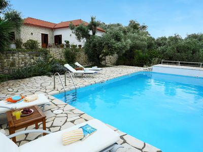 Photo for Villa Emmy, Paxos - 3 bedrooms with private pool & Wi-Fi !!!